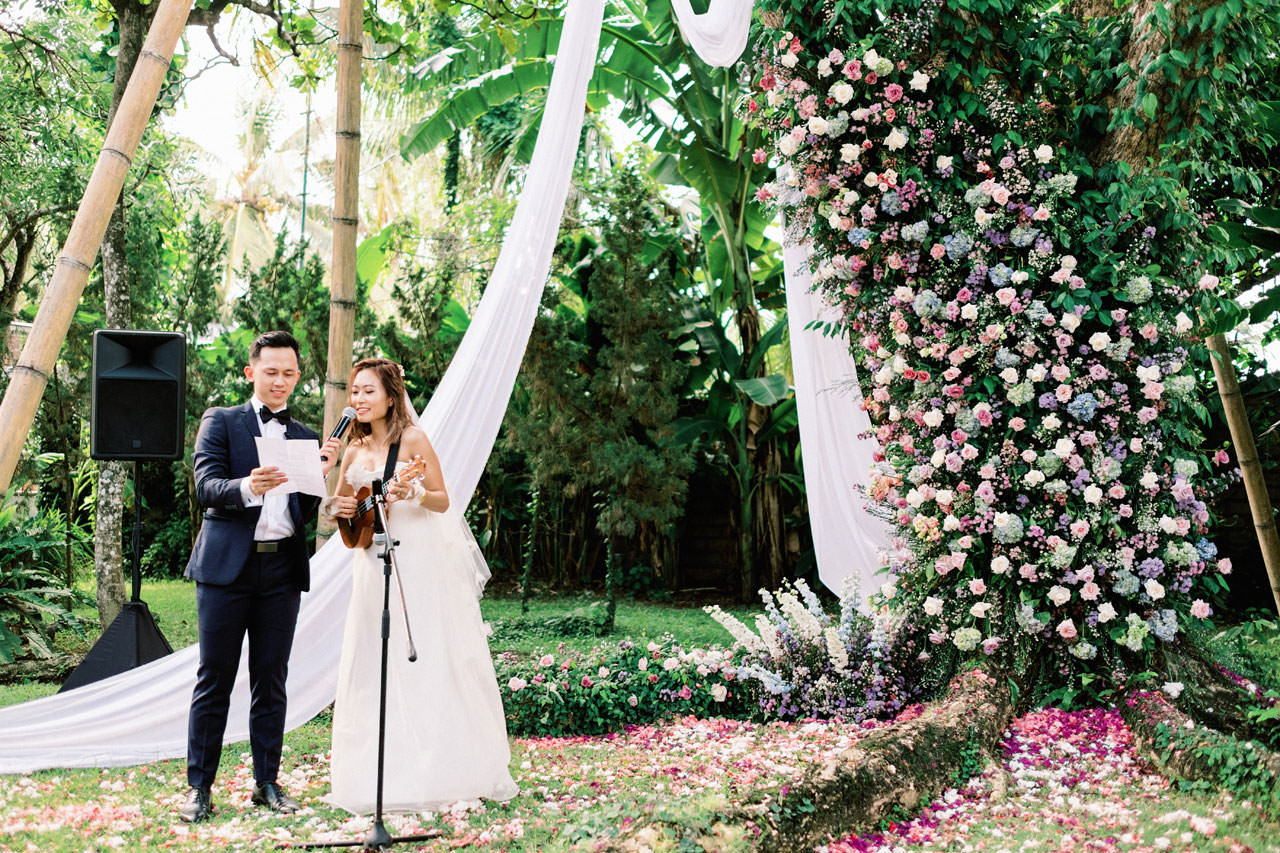 Whimsical Bali Forest Wedding at Puri Nirwana  40