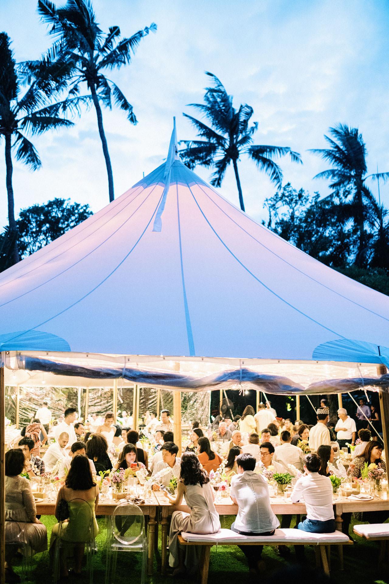 Whimsical Bali Forest Wedding at Puri Nirwana  54