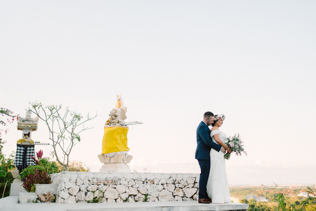 E&A: Bali Intimate Elopement Photography at Puri Temple Hill 18