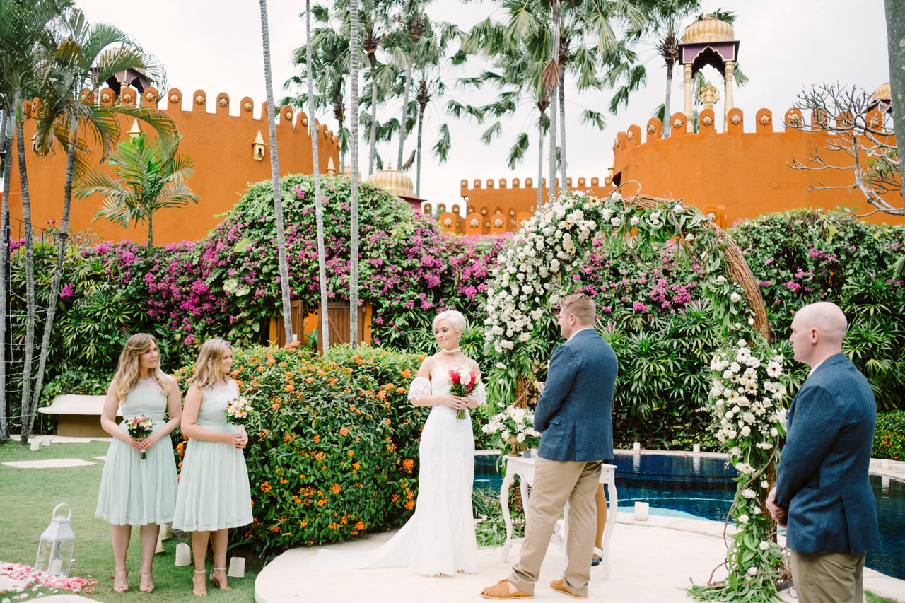 Bali Wedding Inspiration with an Indian & Middle Eastern Exotic Architecture 10