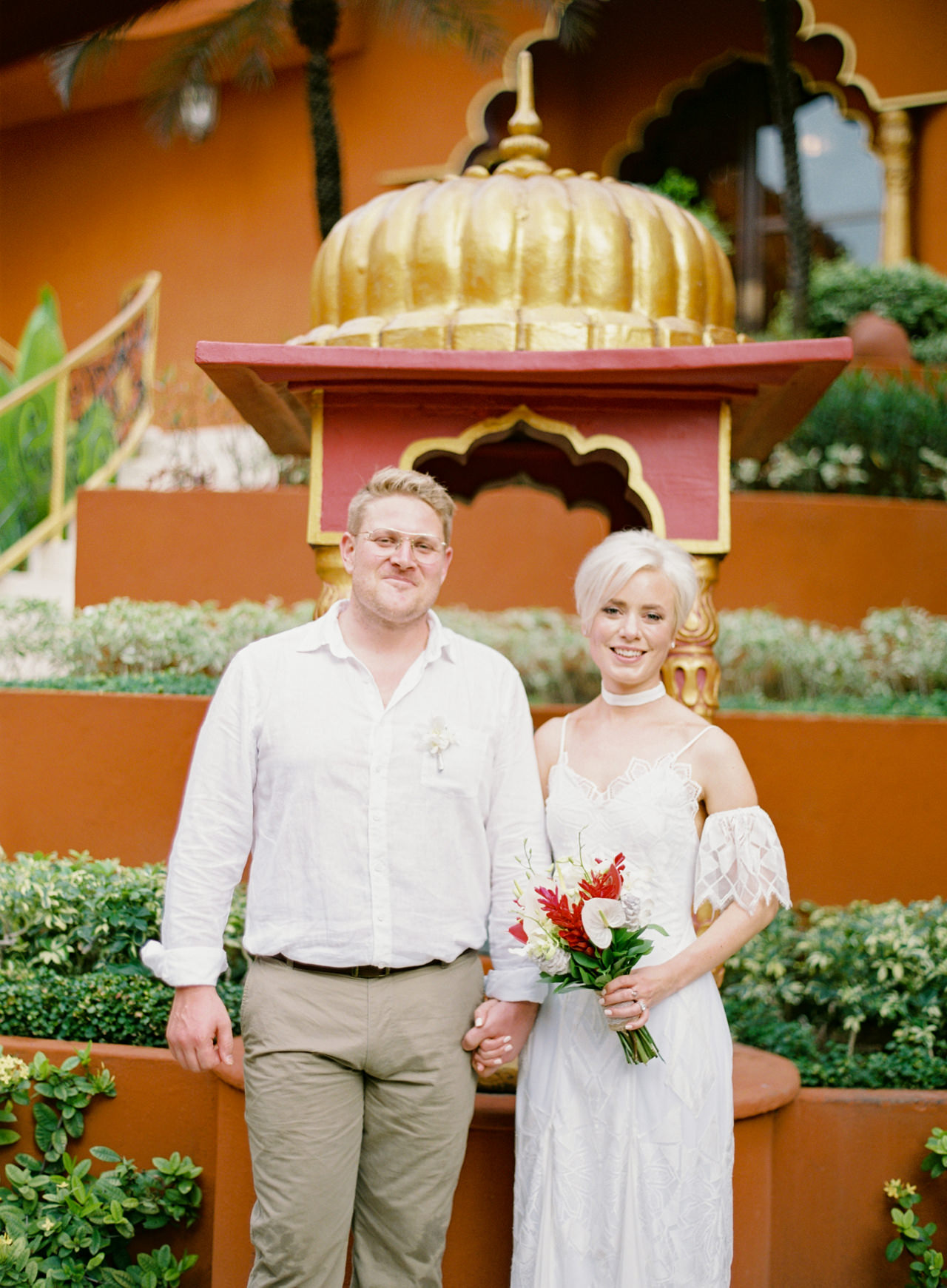 Bali Wedding Inspiration with an Indian & Middle Eastern Exotic Architecture 14