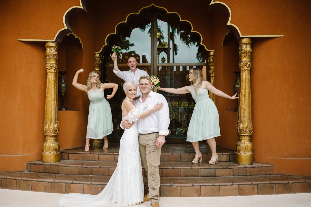 Bali Wedding Inspiration with an Indian & Middle Eastern Exotic Architecture 17