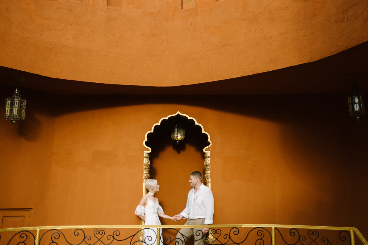 Bali Wedding Inspiration with an Indian & Middle Eastern Exotic Architecture 18