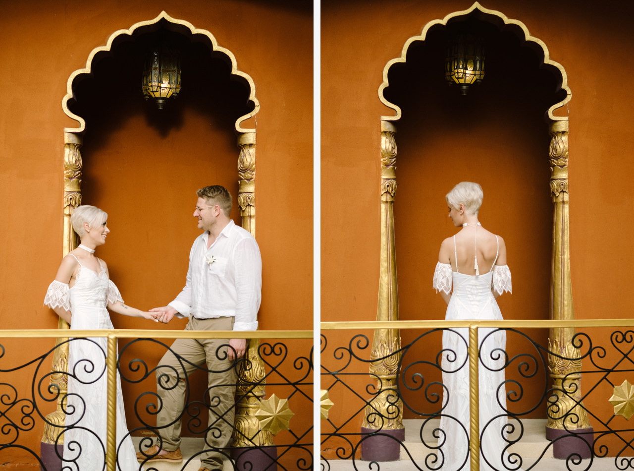 Bali Wedding Inspiration with an Indian & Middle Eastern Exotic Architecture 19