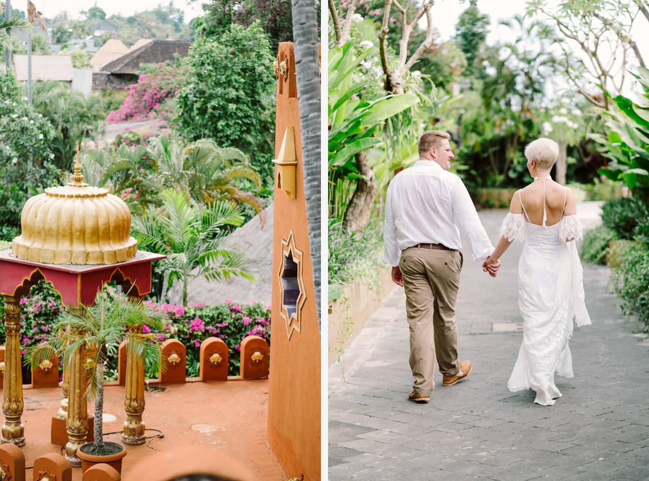 Bali Wedding Inspiration with an Indian & Middle Eastern Exotic Architecture 21