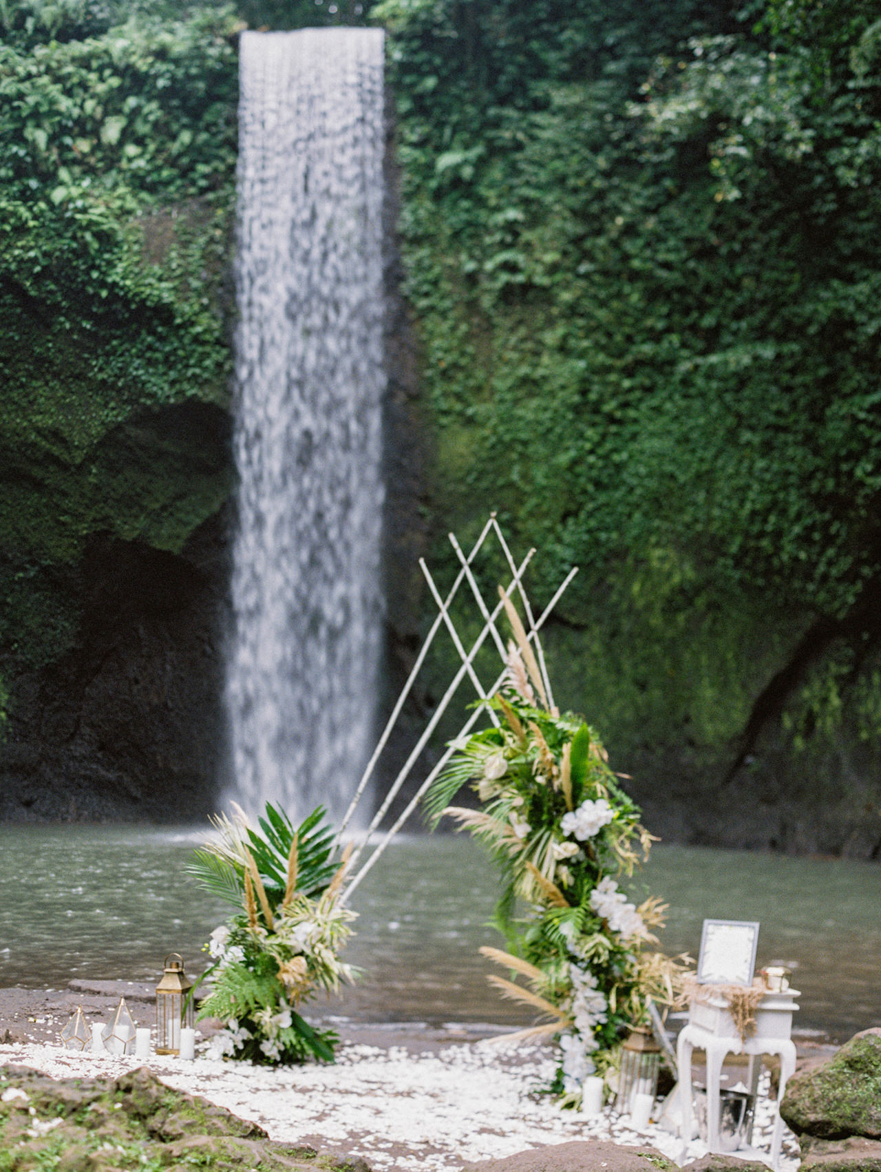 E&D: Tibumana Waterfall Bali Elopement 5