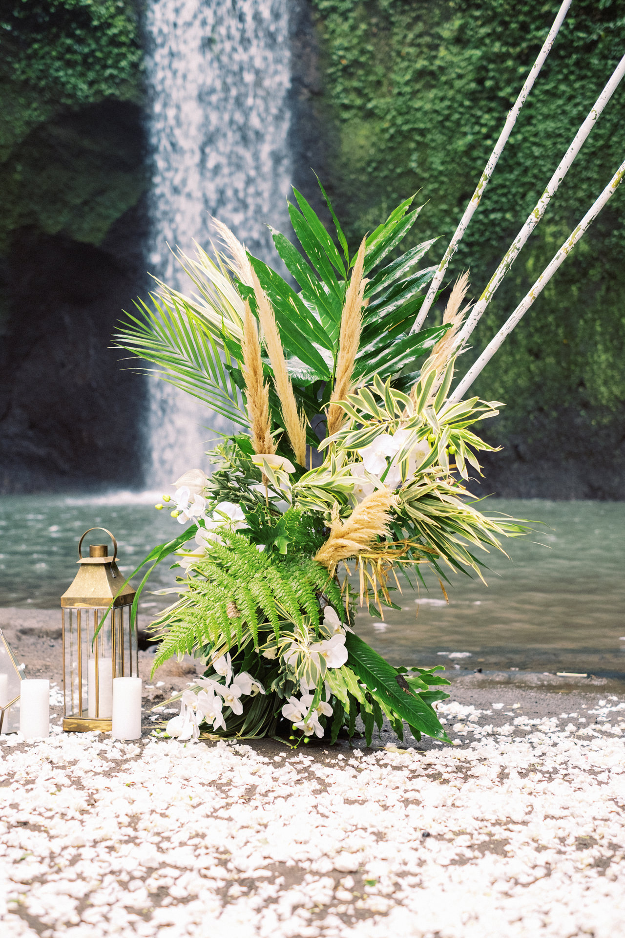 E&D: Tibumana Waterfall Bali Elopement 9