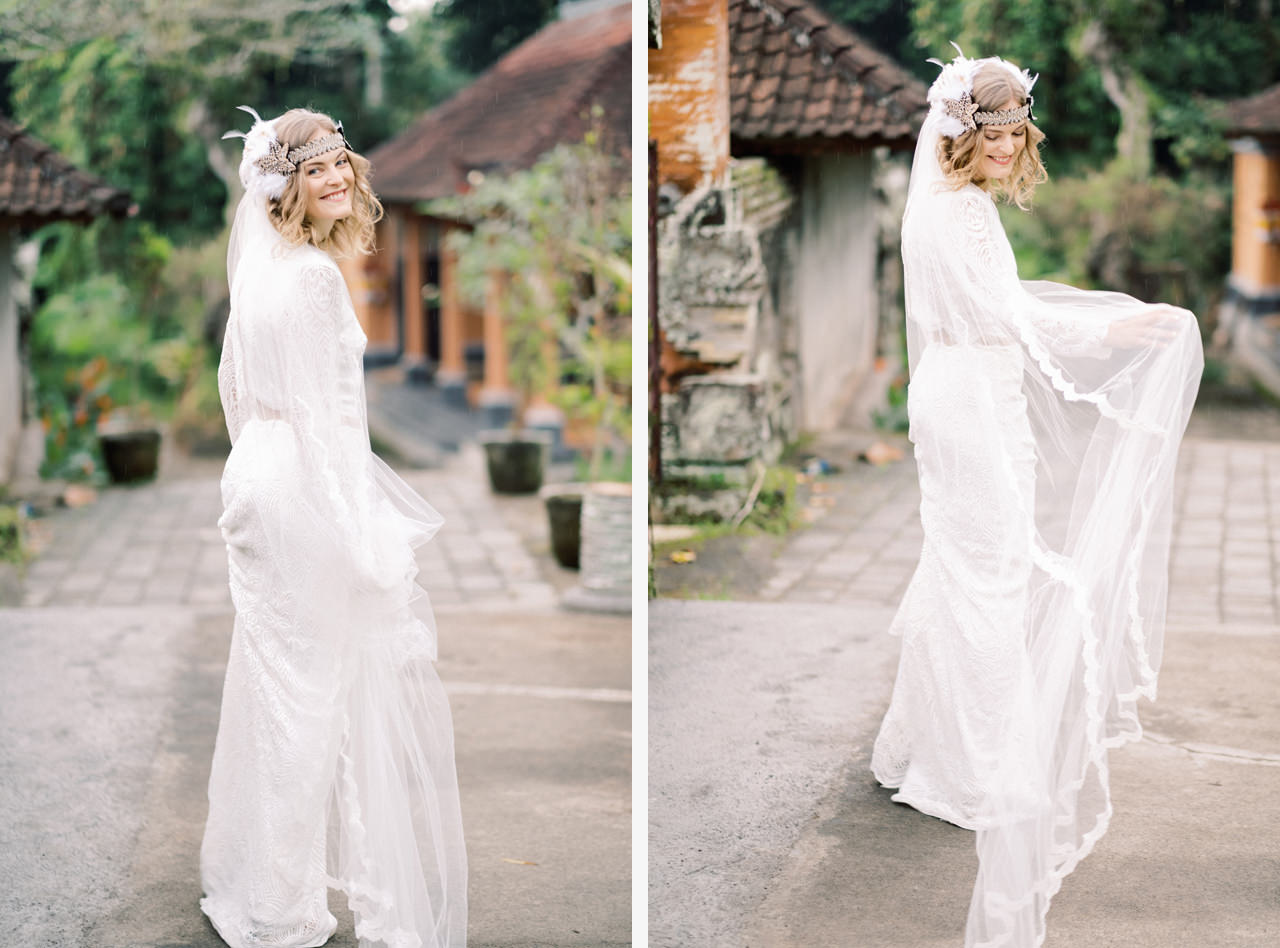 E&D: Tibumana Waterfall Bali Elopement 11