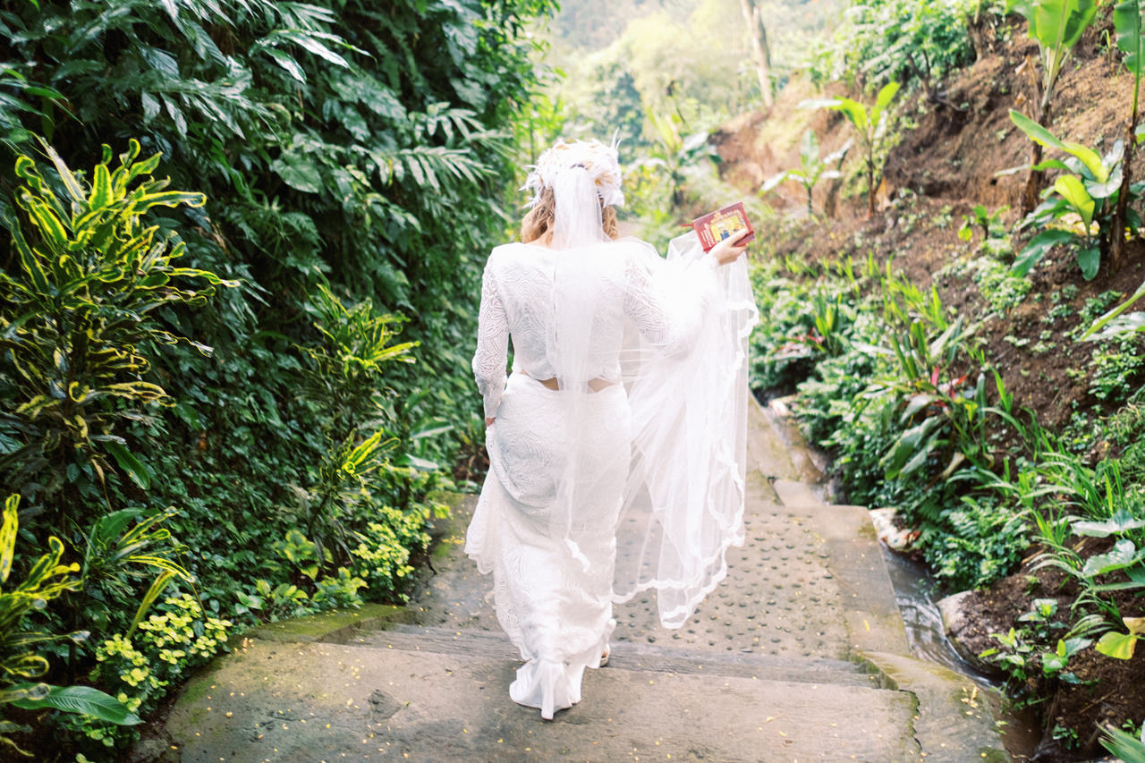E&D: Tibumana Waterfall Bali Elopement 13