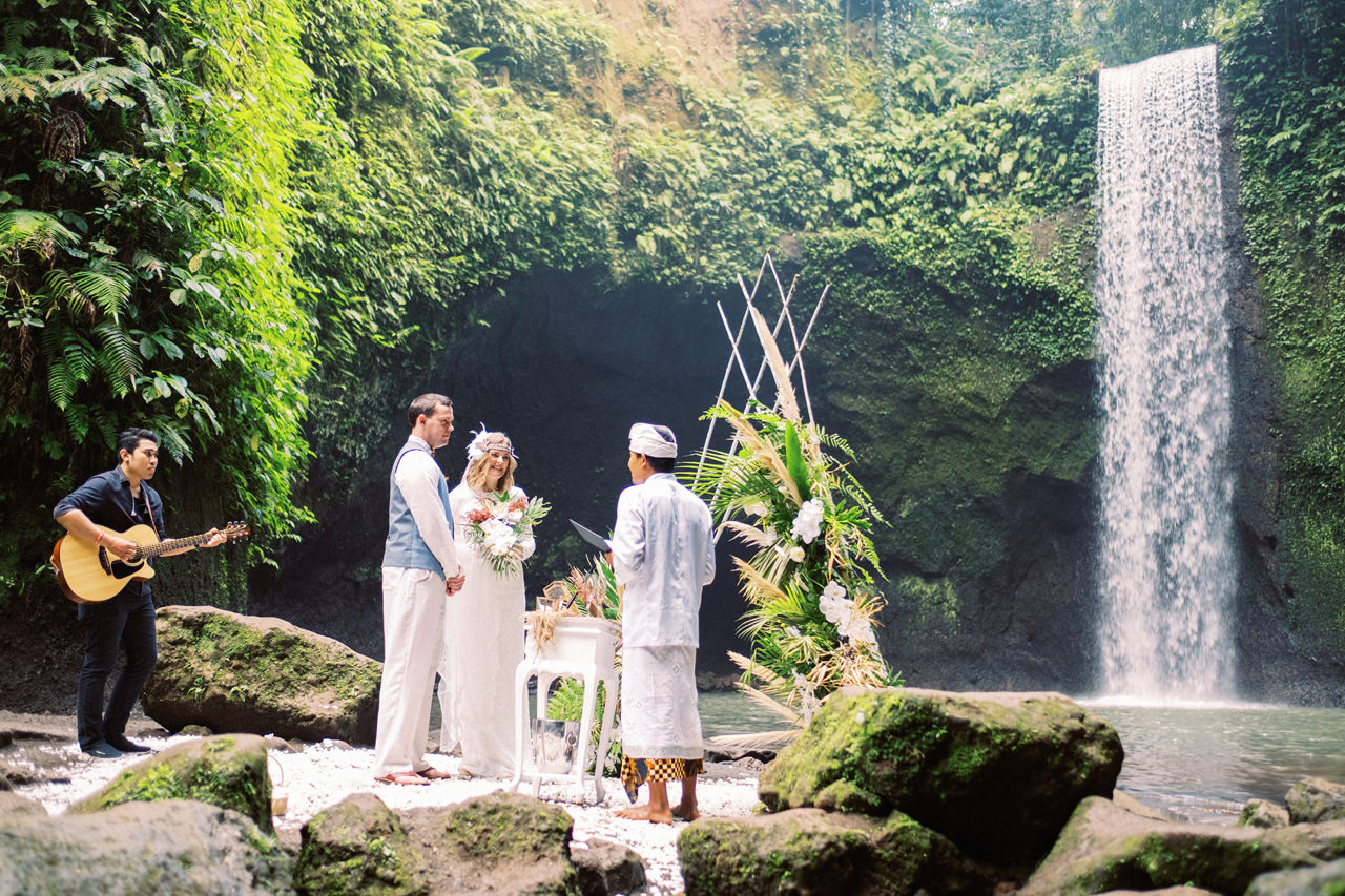 E&D: Tibumana Waterfall Bali Elopement 21