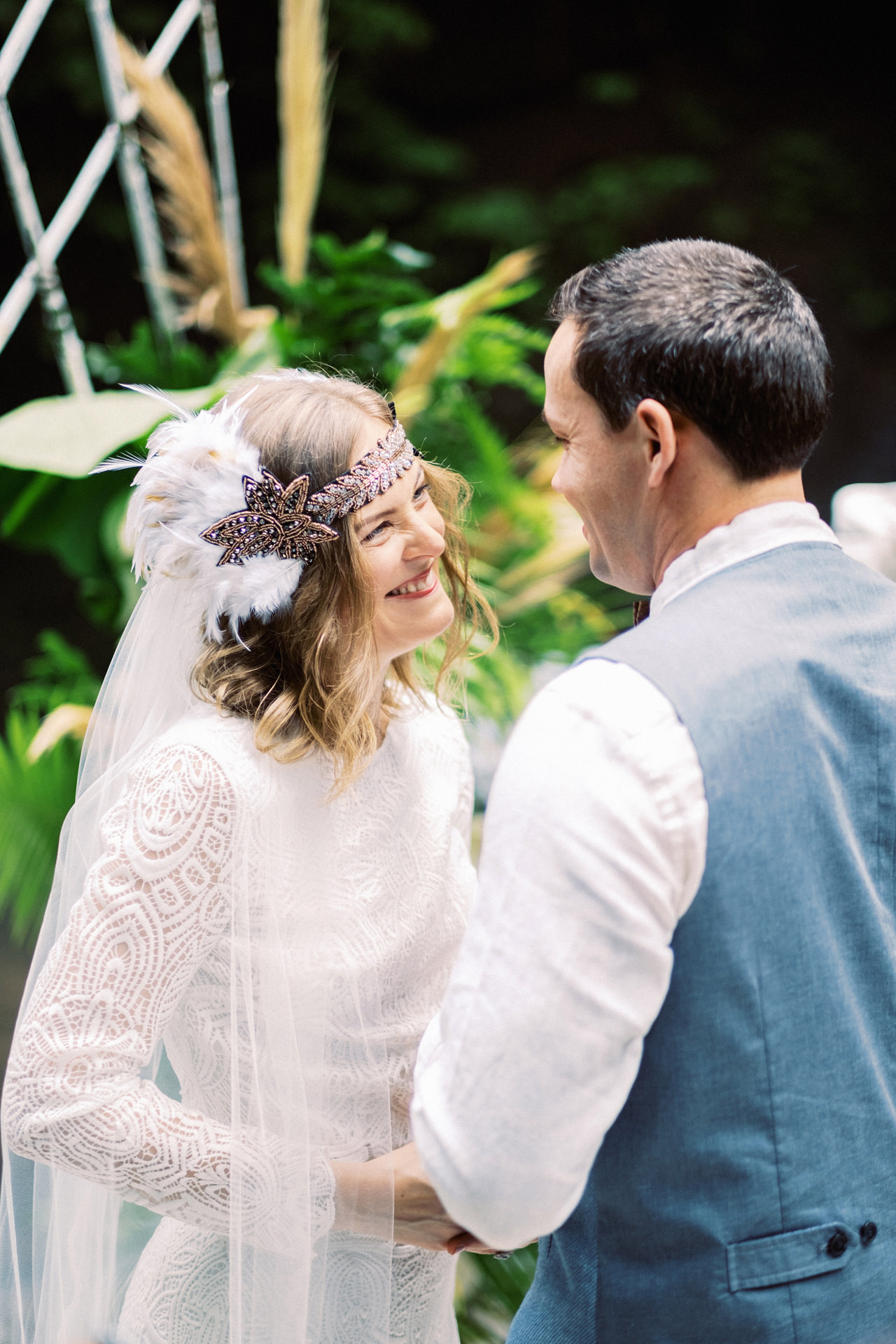 E&D: Tibumana Waterfall Bali Elopement 23