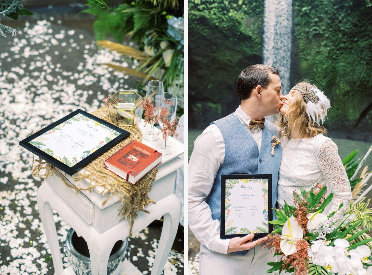 E&D: Tibumana Waterfall Bali Elopement 27