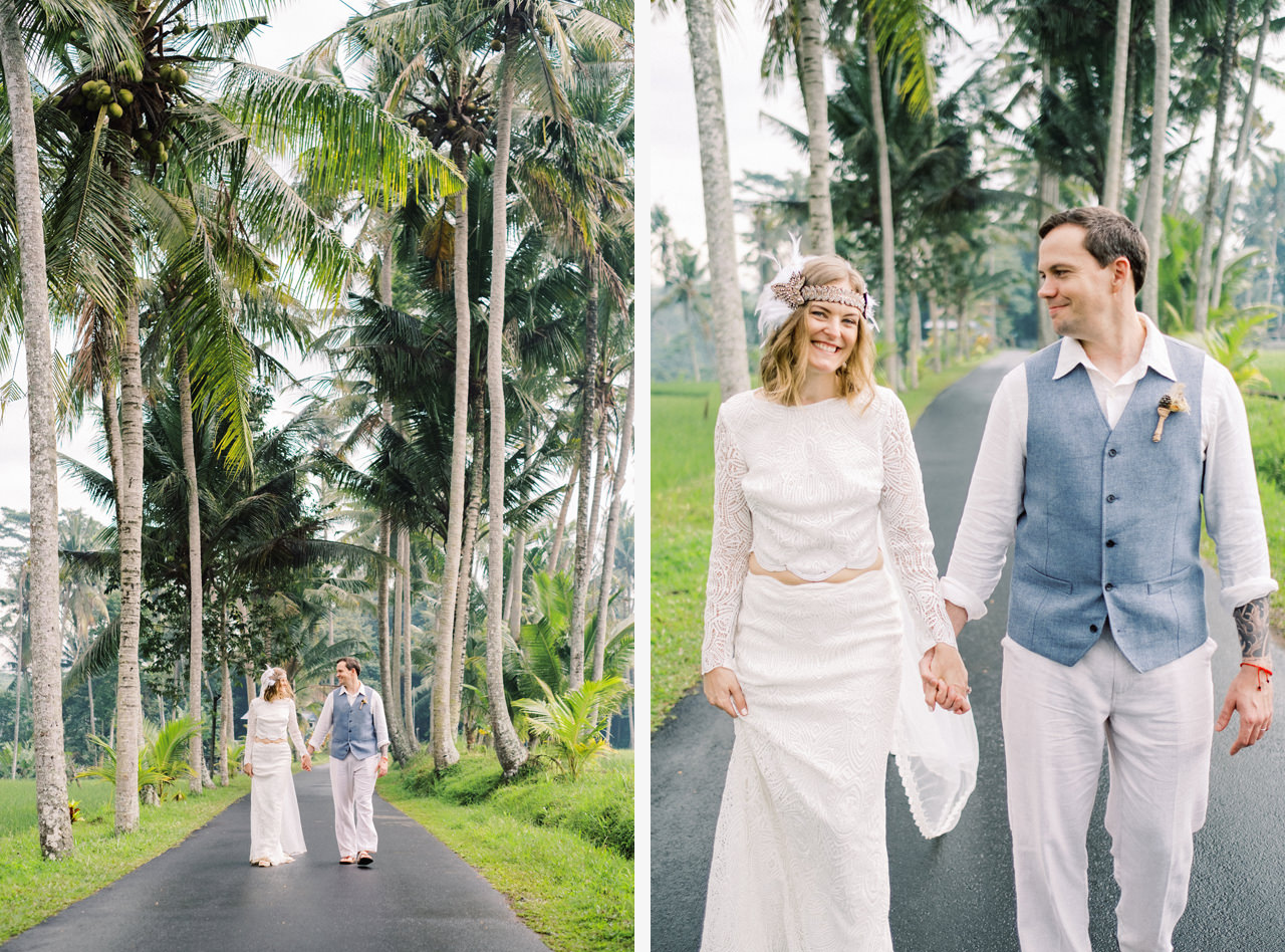 E&D: Tibumana Waterfall Bali Elopement 35