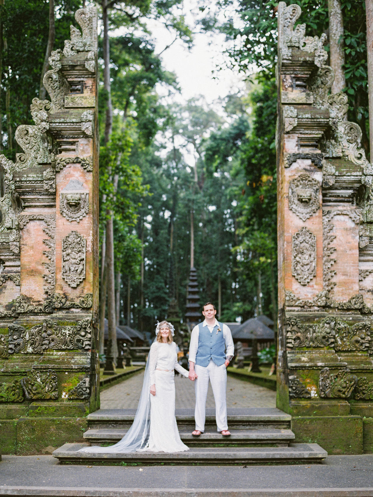 E&D: Tibumana Waterfall Bali Elopement 40