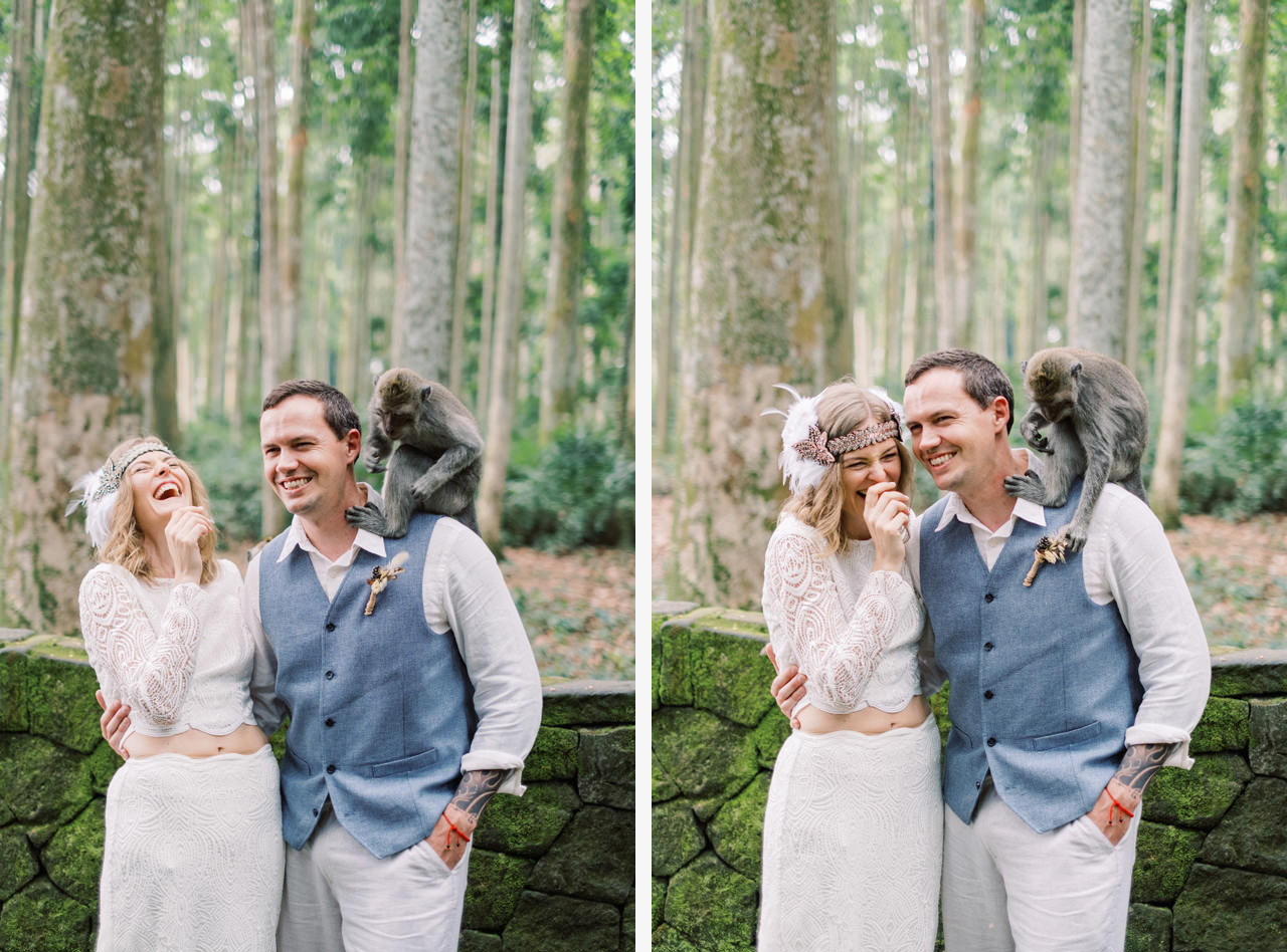 E&D: Tibumana Waterfall Bali Elopement 49