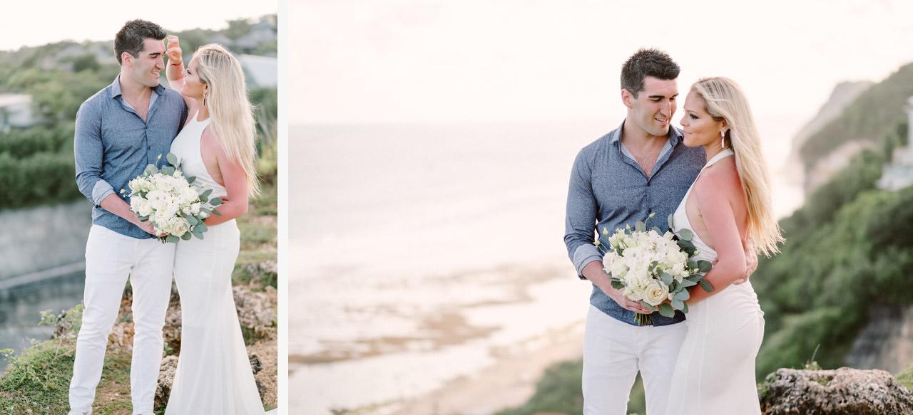 Elhana & Edin: Newlywed Honeymoon Photography In Bali 1