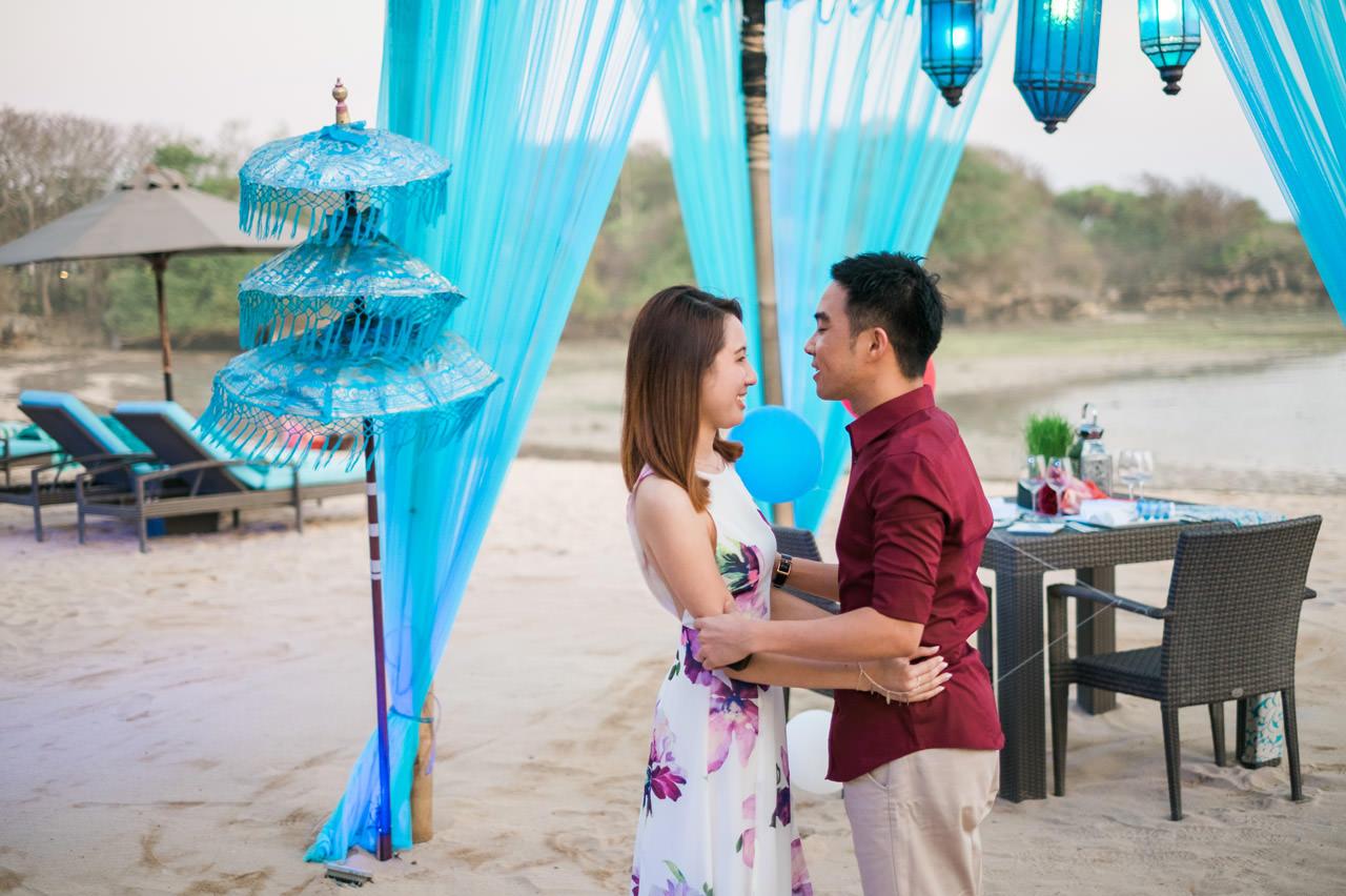Eugene & Joanne: Bali Surprise Proposal 1