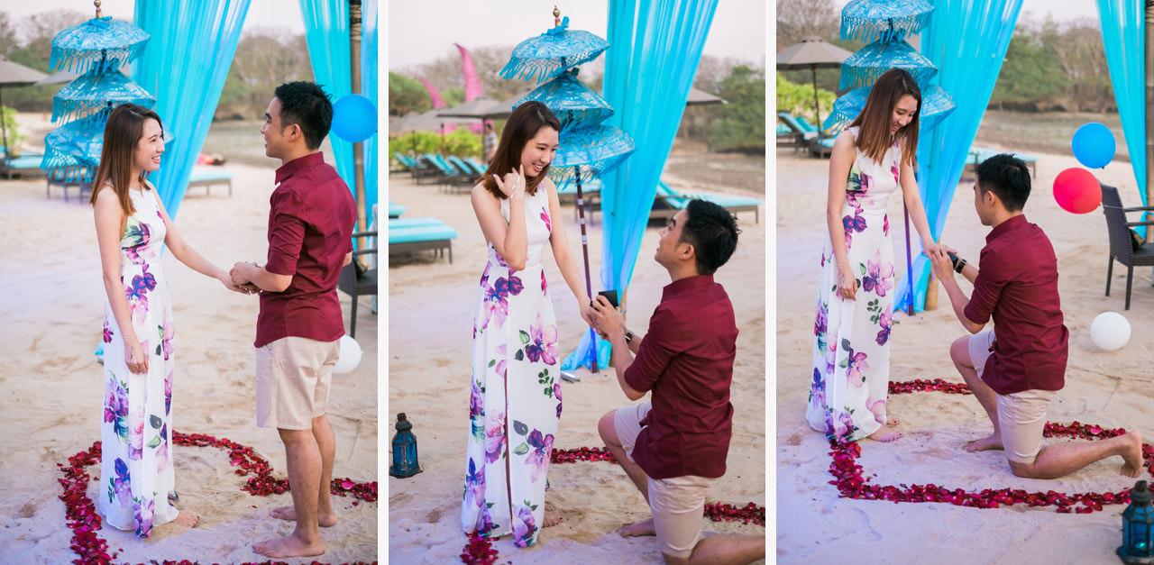 Eugene & Joanne: Bali Surprise Proposal 2