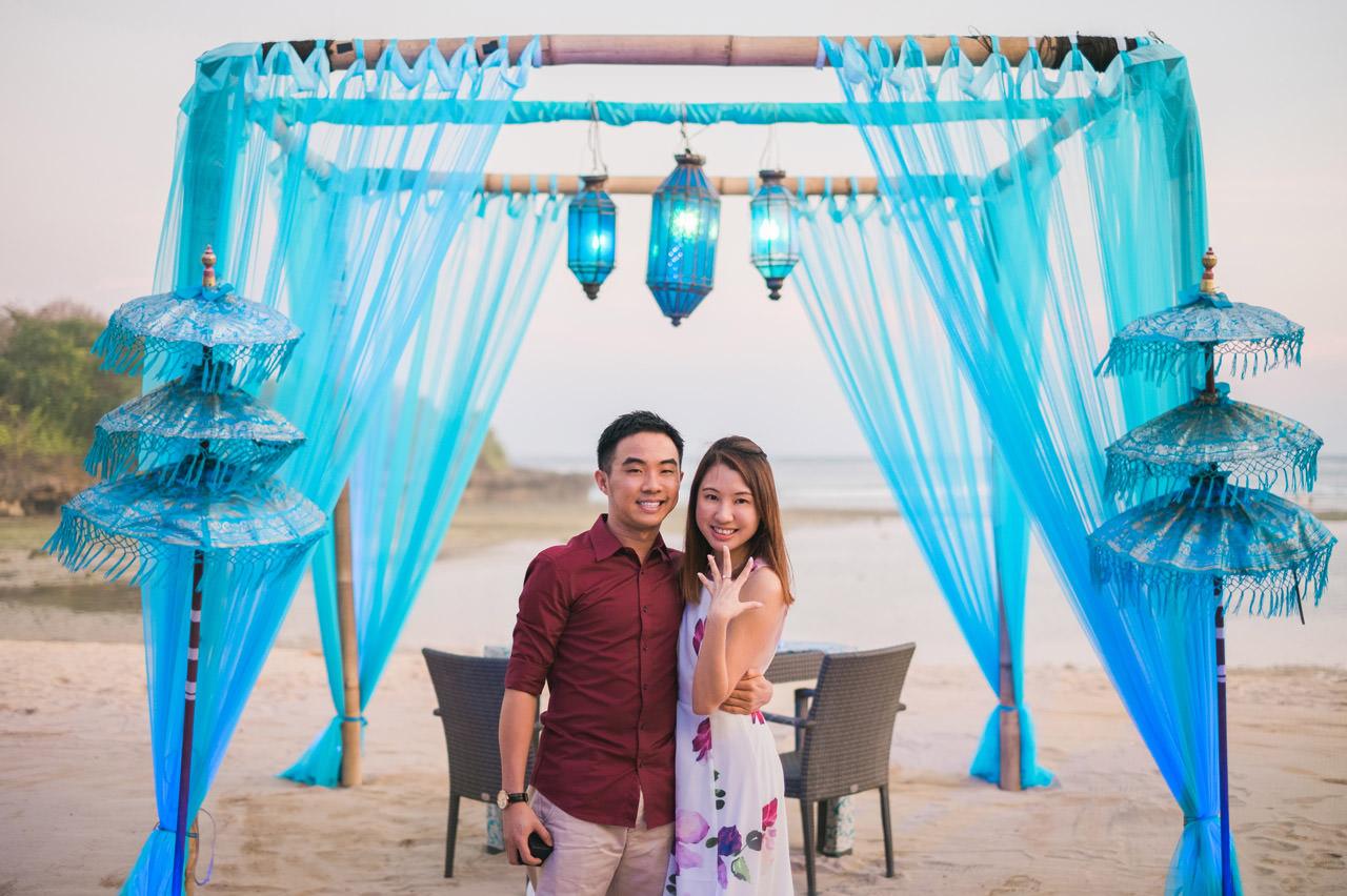 Eugene & Joanne: Bali Surprise Proposal 3