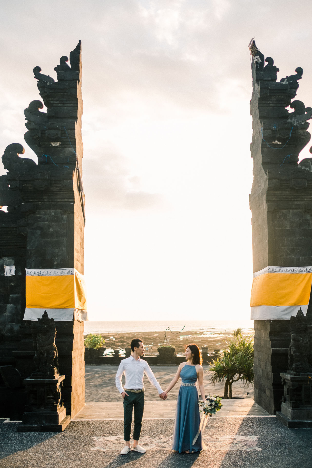 E&P: Sunset in Canggu Bali Engagement Photography 14