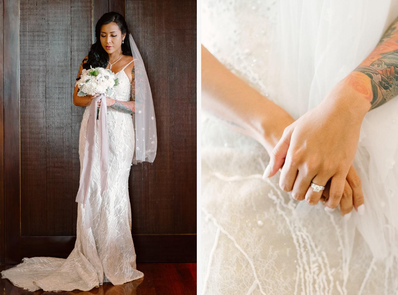 E&T: Beachside Multicultural Bali Wedding Photography 20