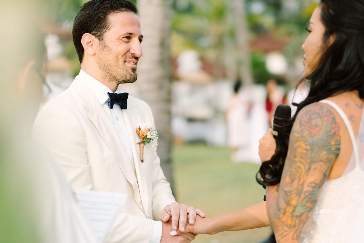 E&T: Beachside Multicultural Bali Wedding Photography 30