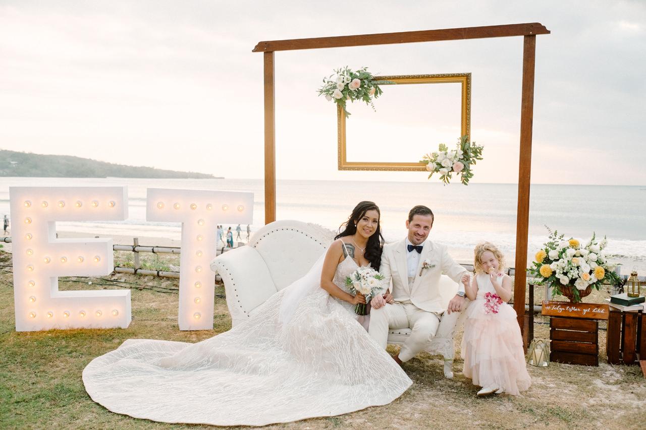 E&T: Beachside Multicultural Bali Wedding Photography 37