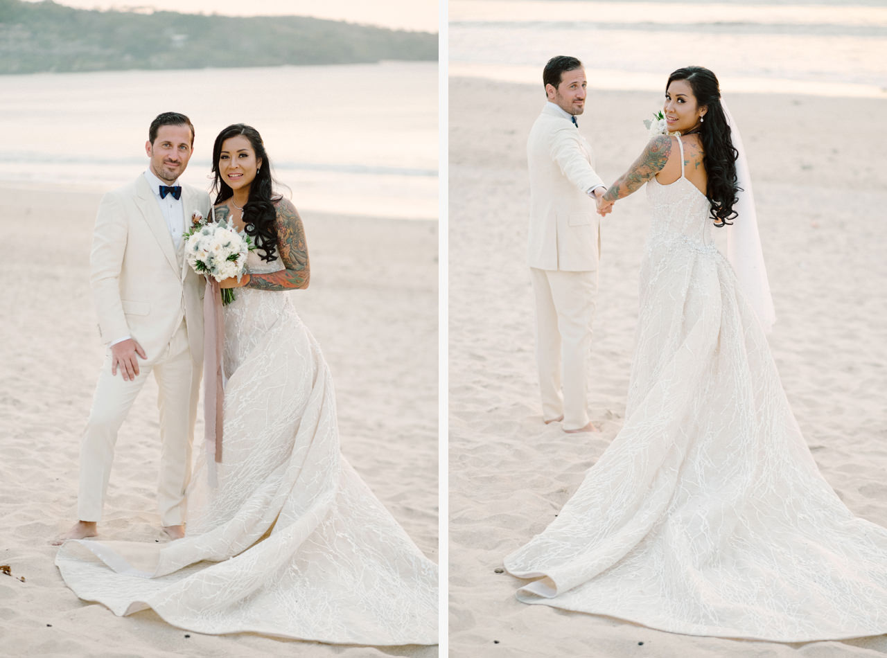 E&T: Beachside Multicultural Bali Wedding Photography 42