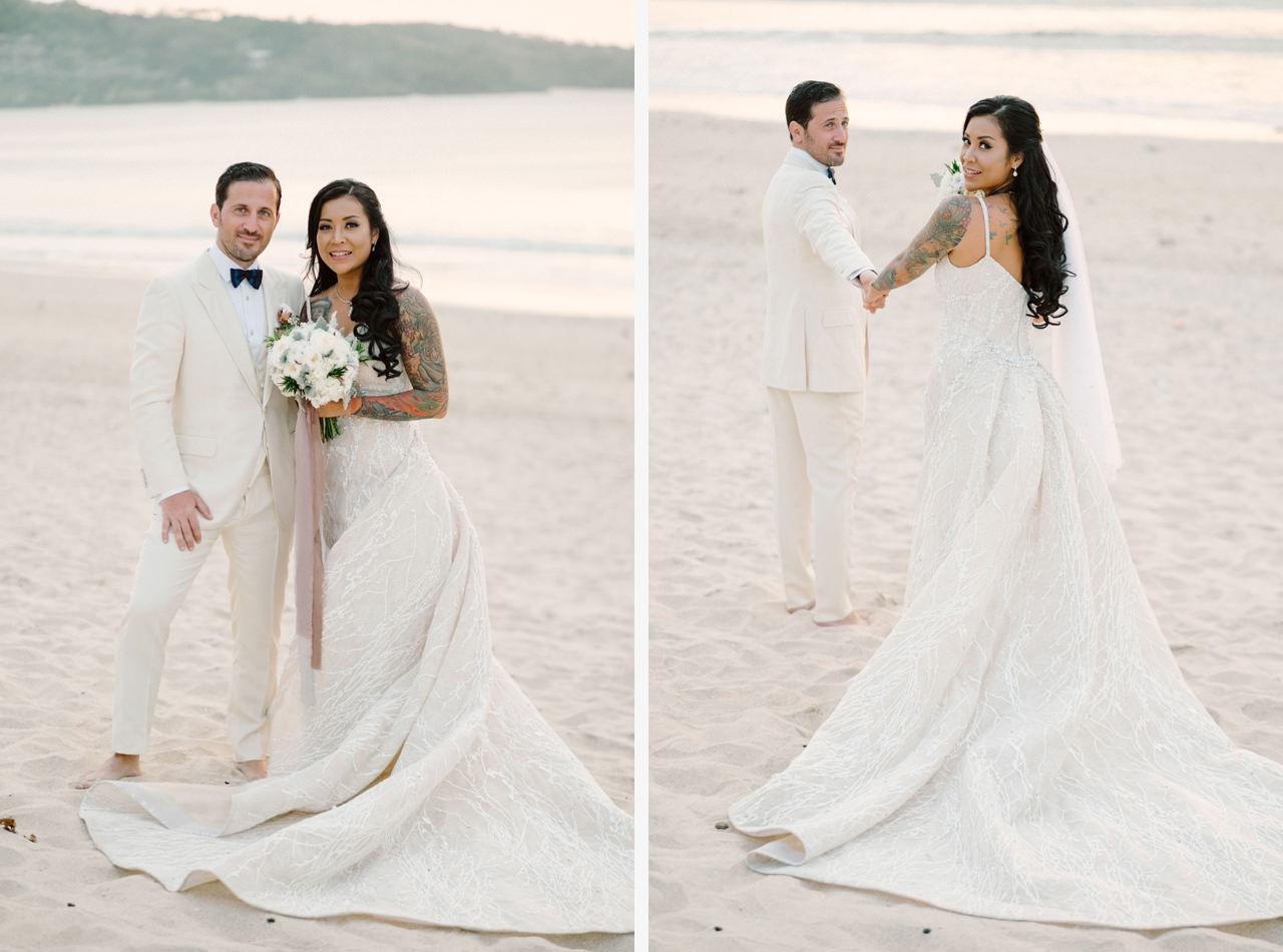 E&T: Beachside Multicultural Bali Wedding Photography 42