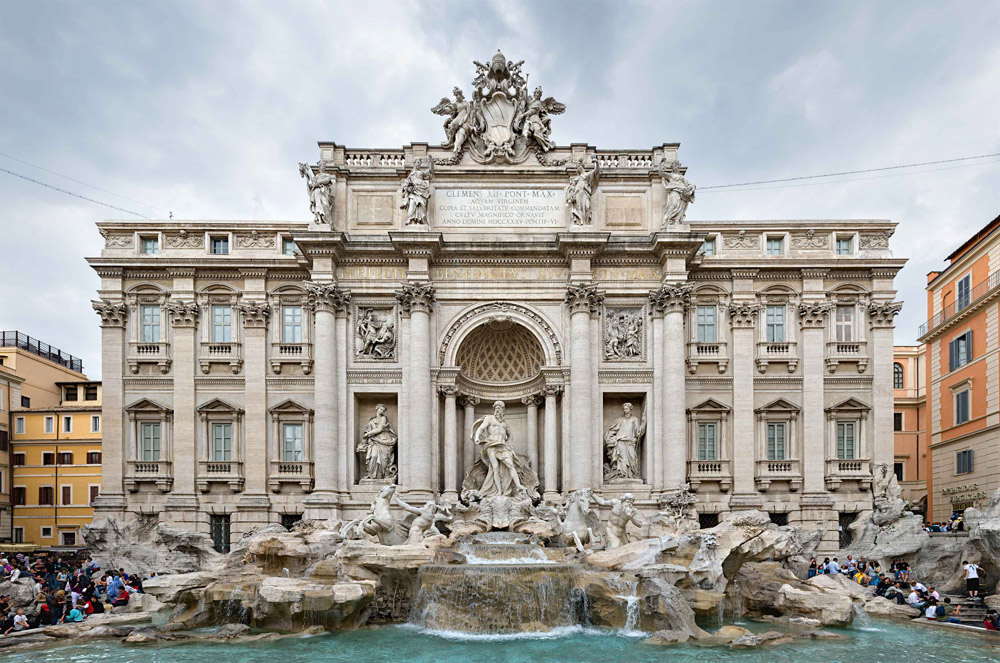 Trevi Fountain - Images by Wikipedia
