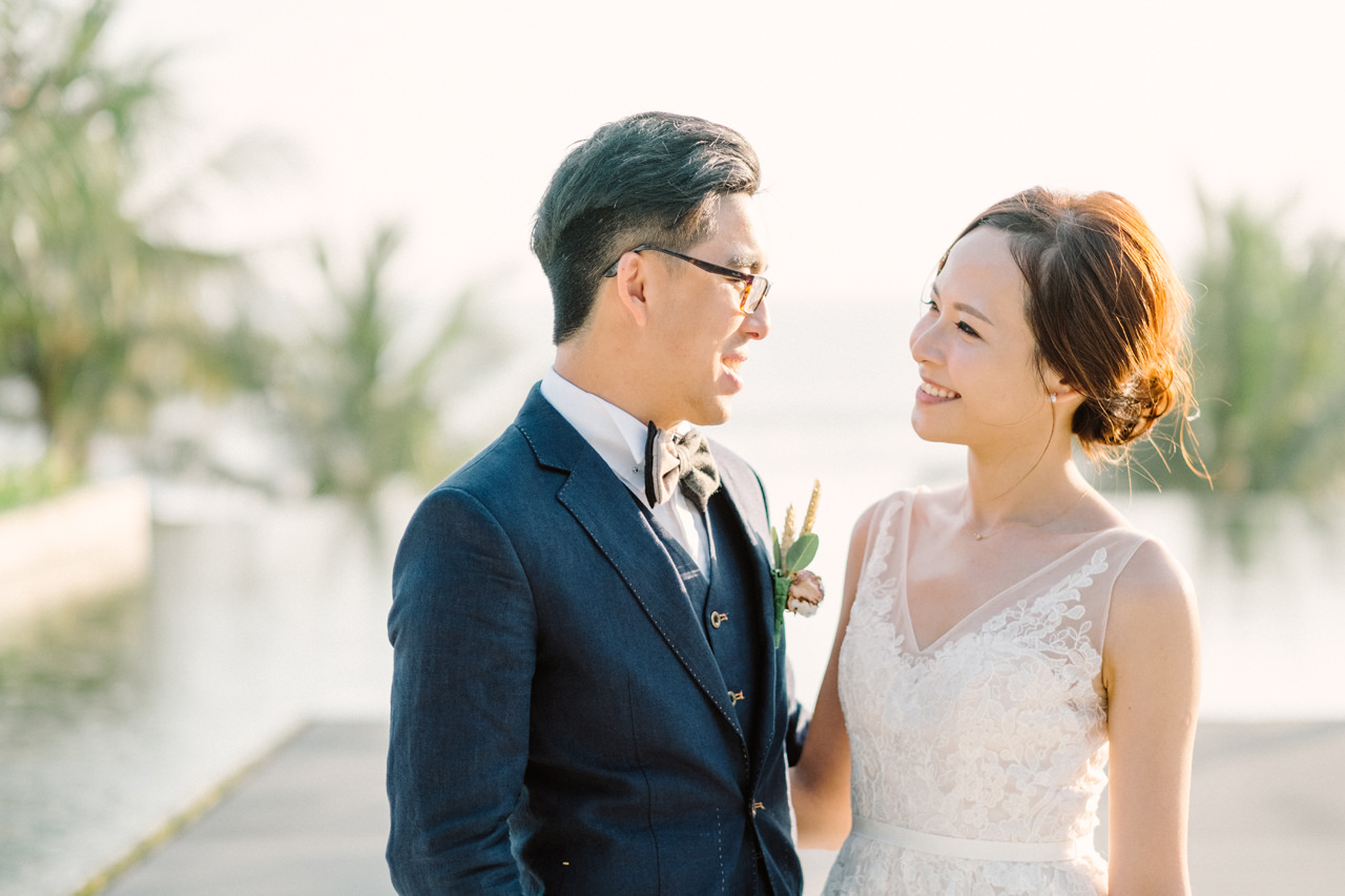 E&W: Oceanside Elopement Photography at Soori Bali 14