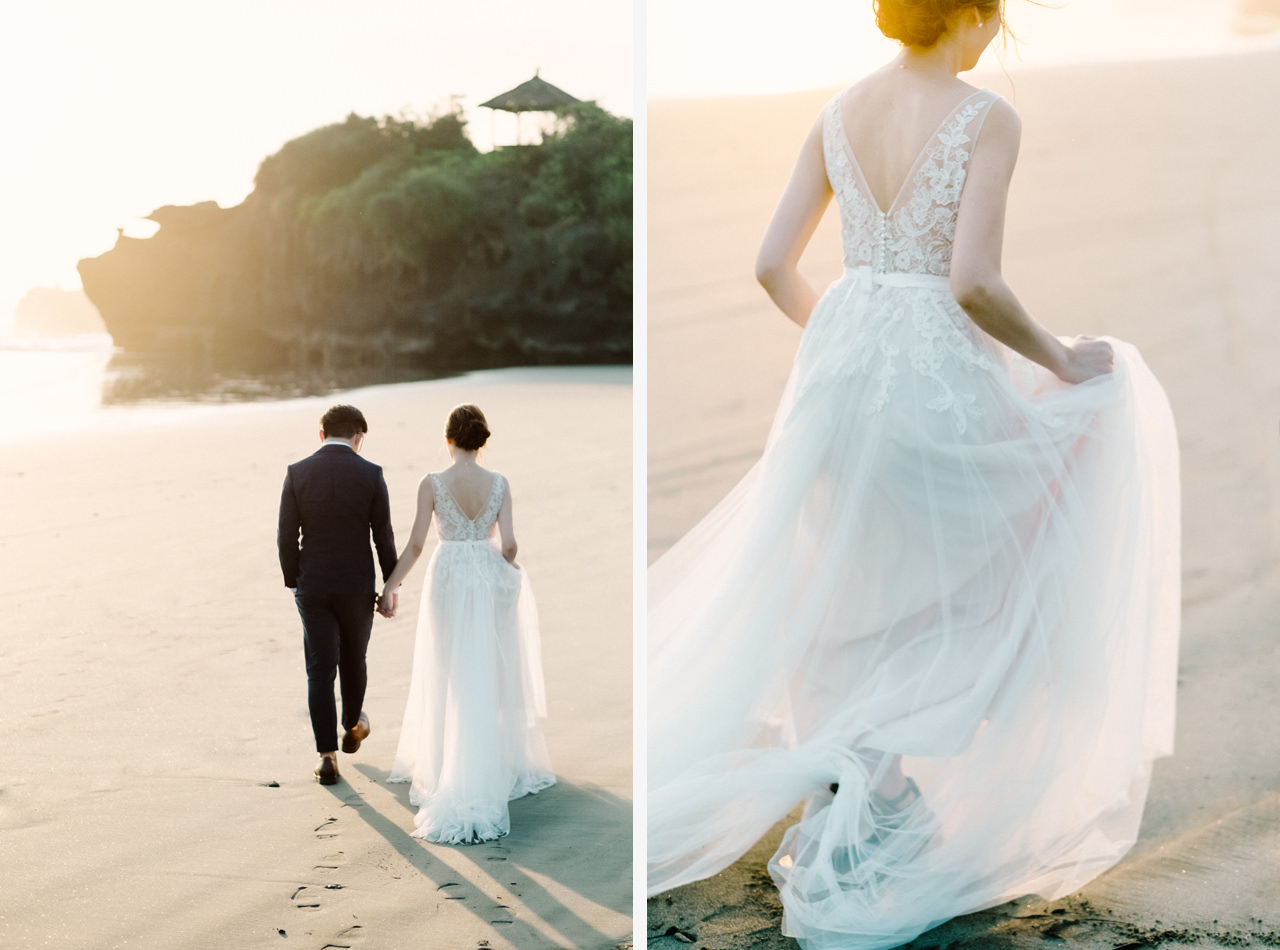 E&W: Oceanside Elopement Photography at Soori Bali 21