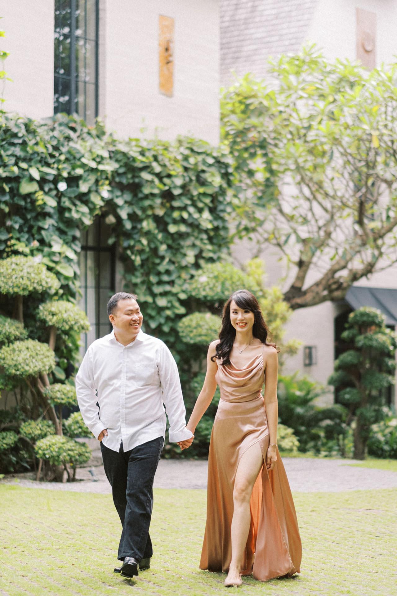 Couple Photoshoot at Kemilau Umalas - European Style Villa in Bali 9