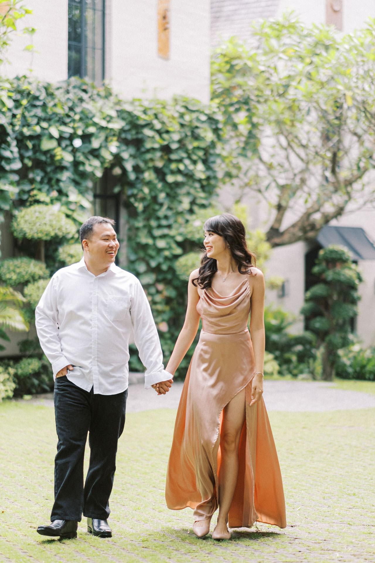 Couple Photoshoot at Kemilau Umalas - European Style Villa in Bali 10