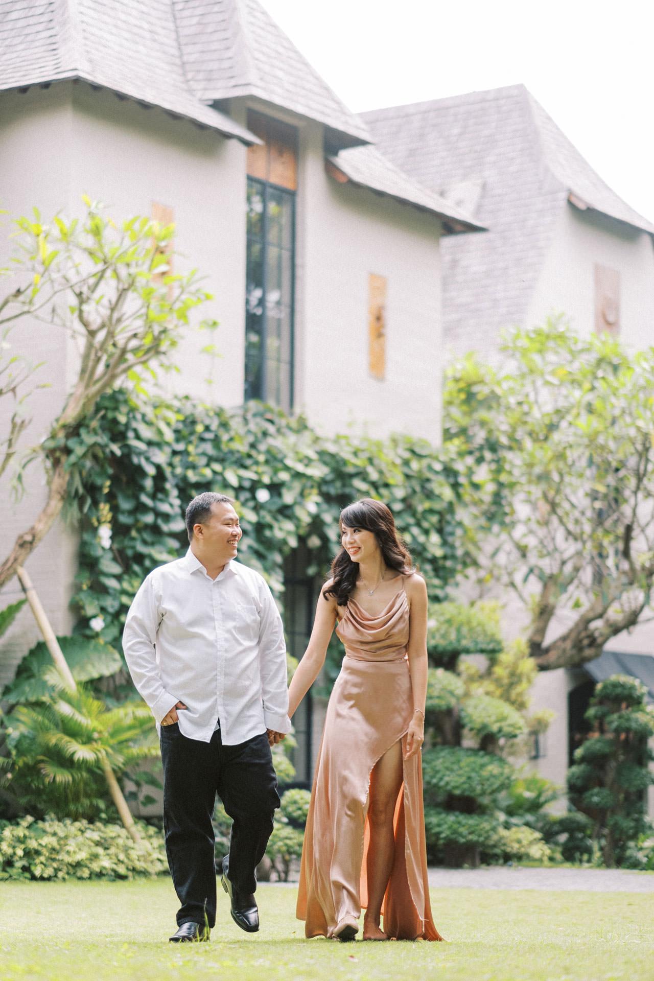 Couple Photoshoot at Kemilau Umalas - European Style Villa in Bali 11