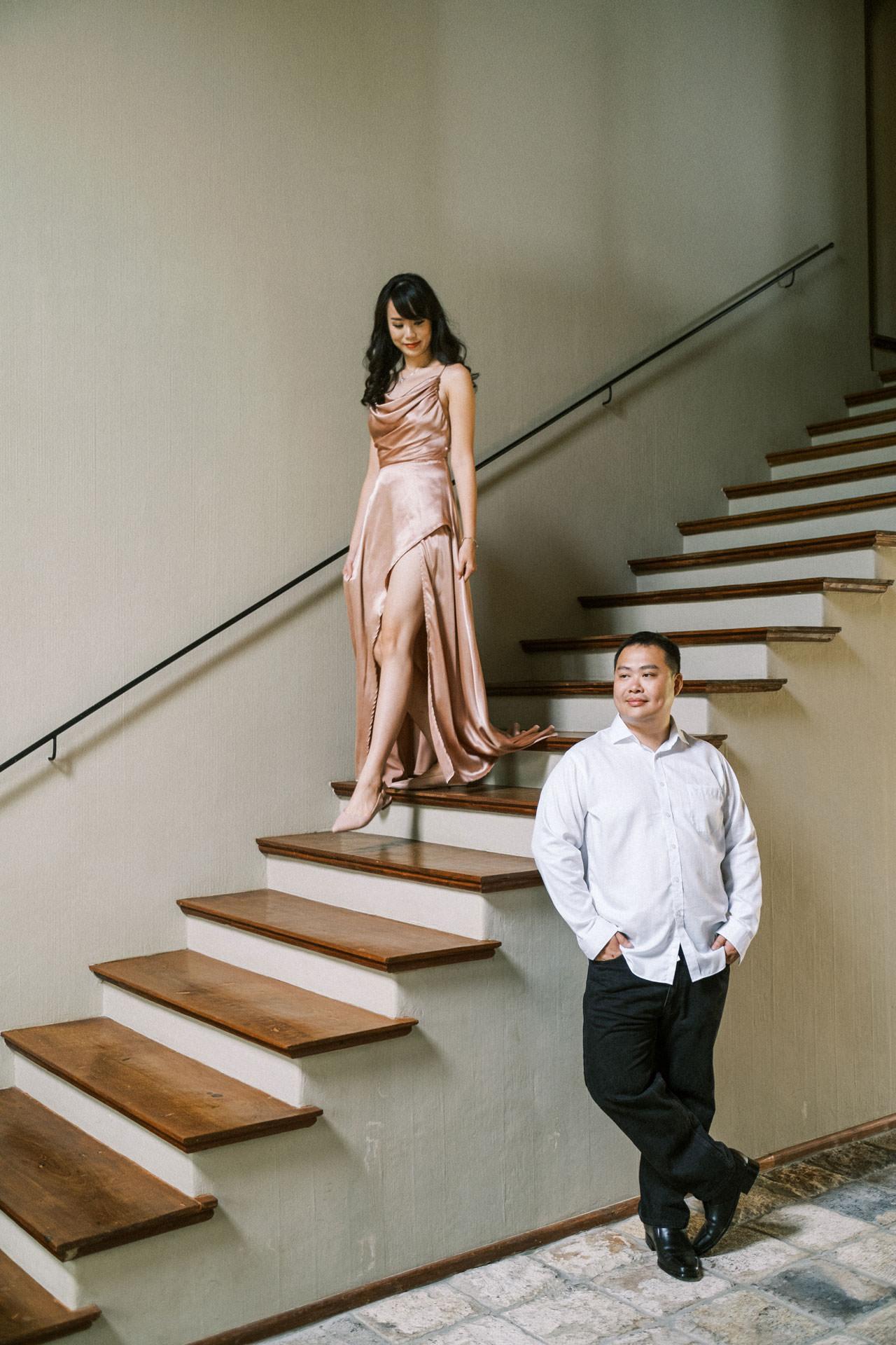 Couple Photoshoot at Kemilau Umalas - European Style Villa in Bali 13