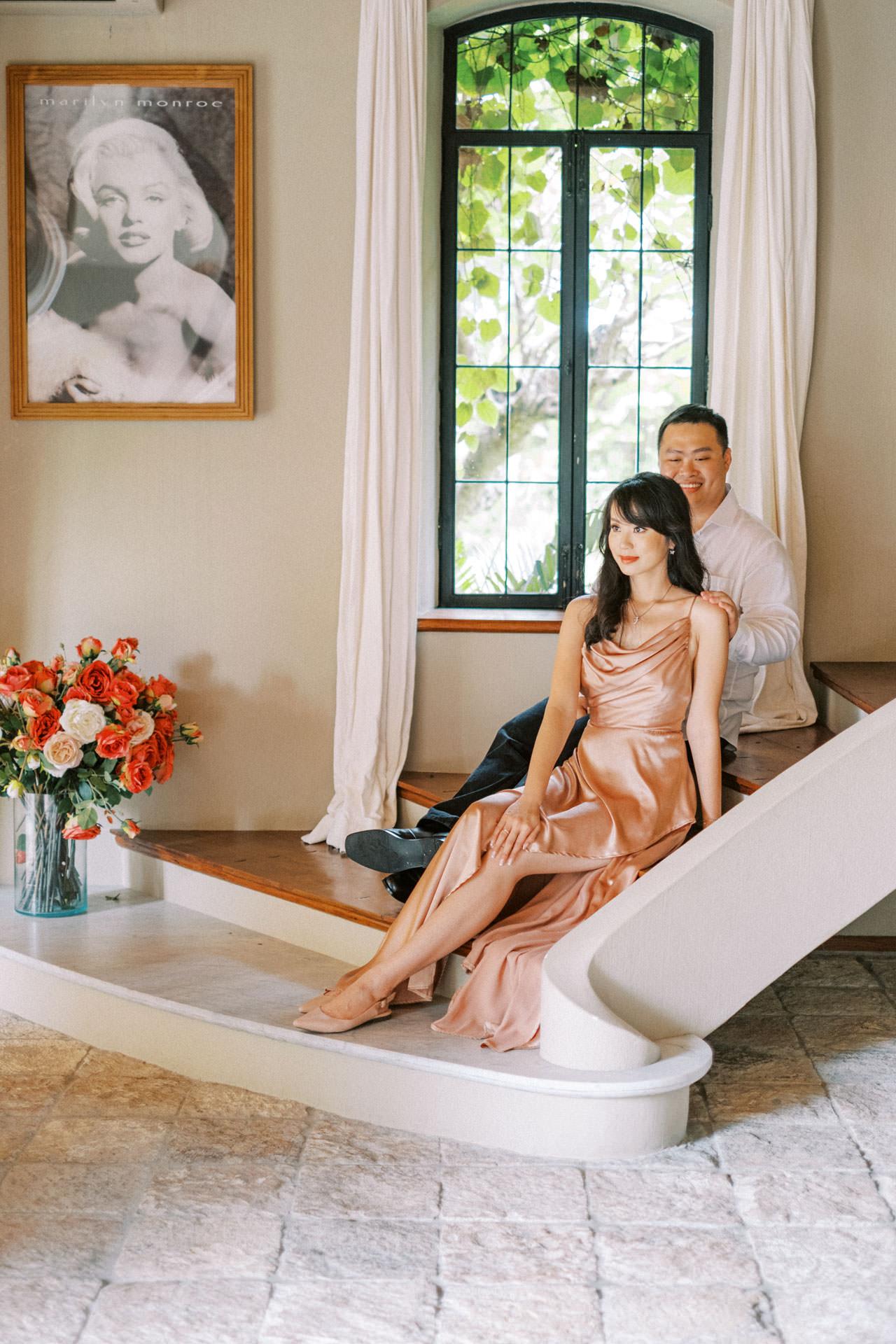 Couple Photoshoot at Kemilau Umalas - European Style Villa in Bali 19