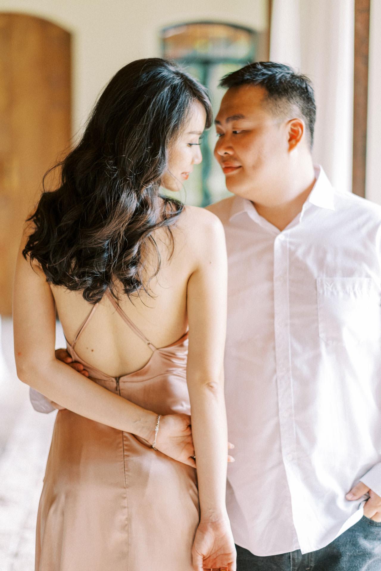 Couple Photoshoot at Kemilau Umalas - European Style Villa in Bali 23