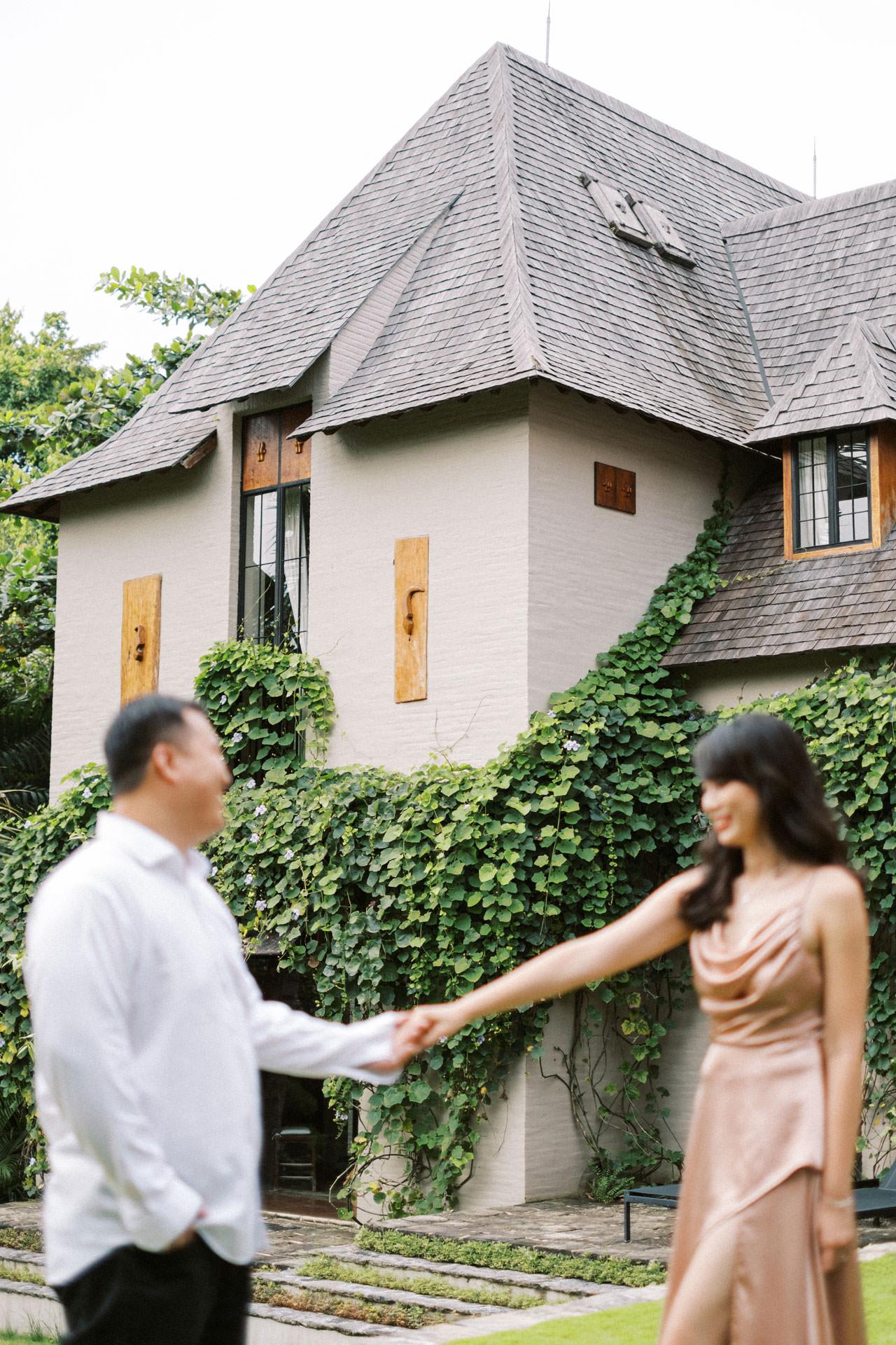 Couple Photoshoot at Kemilau Umalas - European Style Villa in Bali 25
