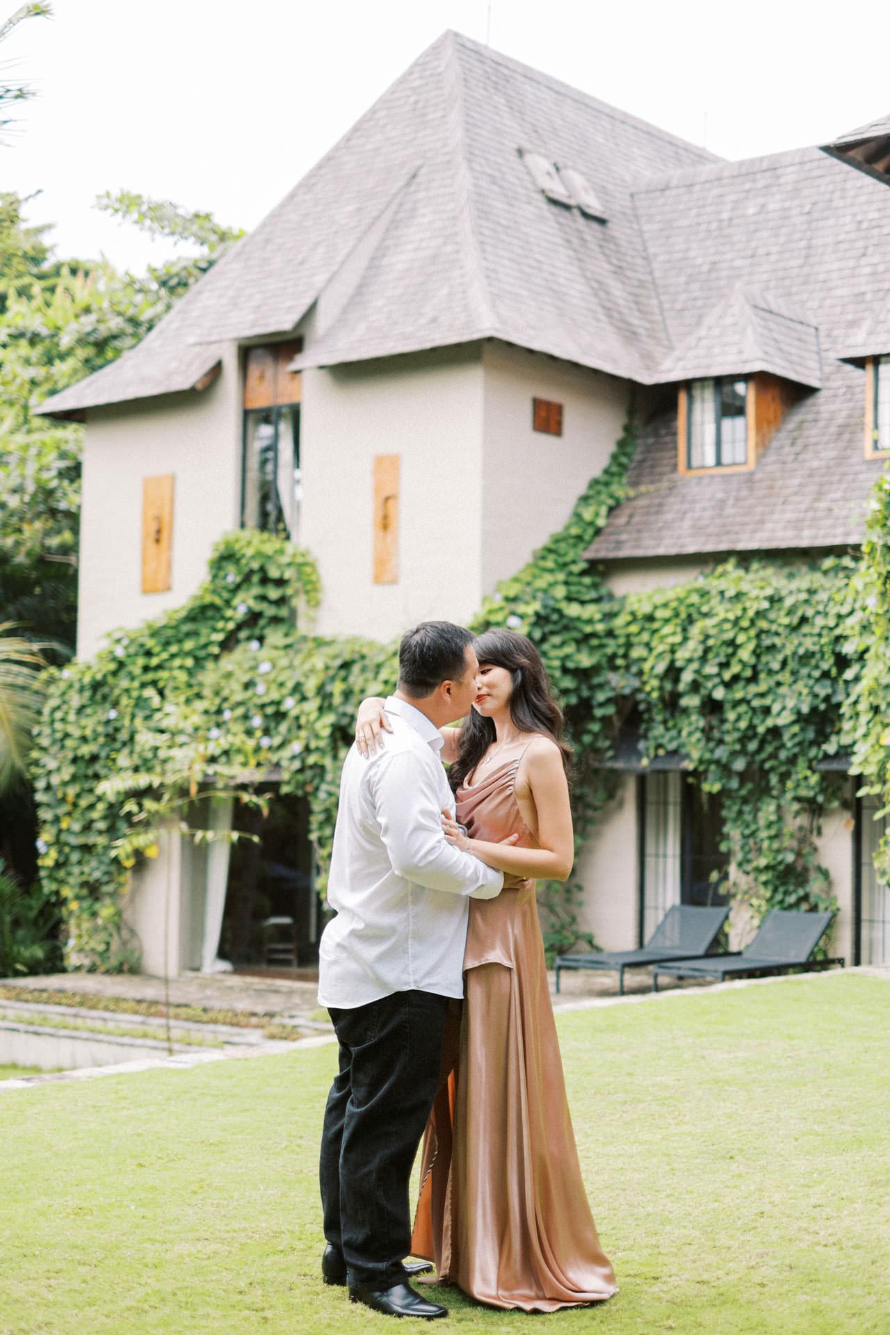 Couple Photoshoot at Kemilau Umalas - European Style Villa in Bali 27