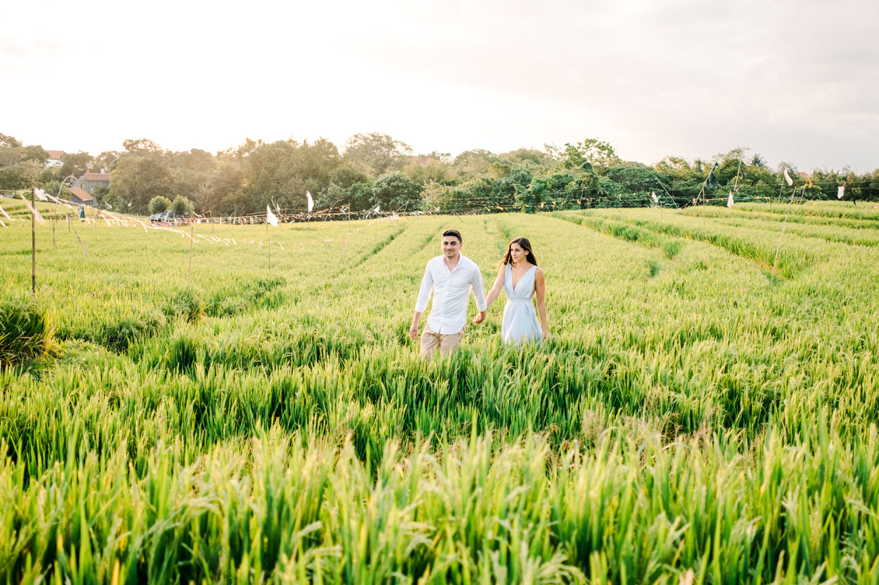 L&G: Bali Vacation Photography With Rice Fields and Beach Background 5