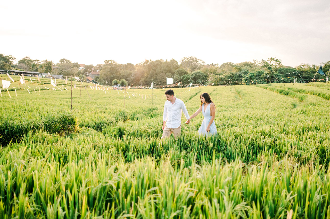 L&G: Bali Vacation Photography With Rice Fields and Beach Background 6