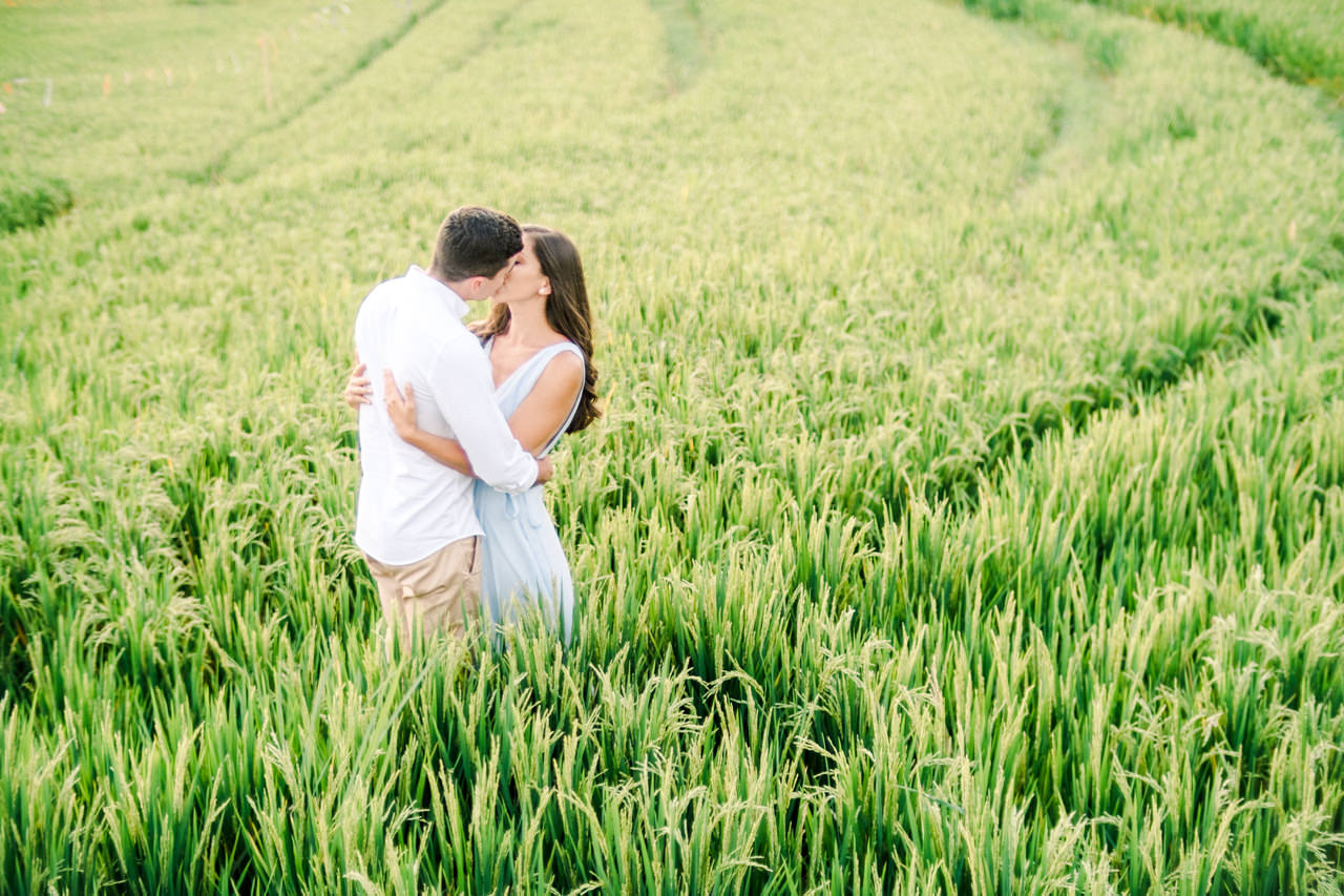 L&G: Bali Vacation Photography With Rice Fields and Beach Background 8