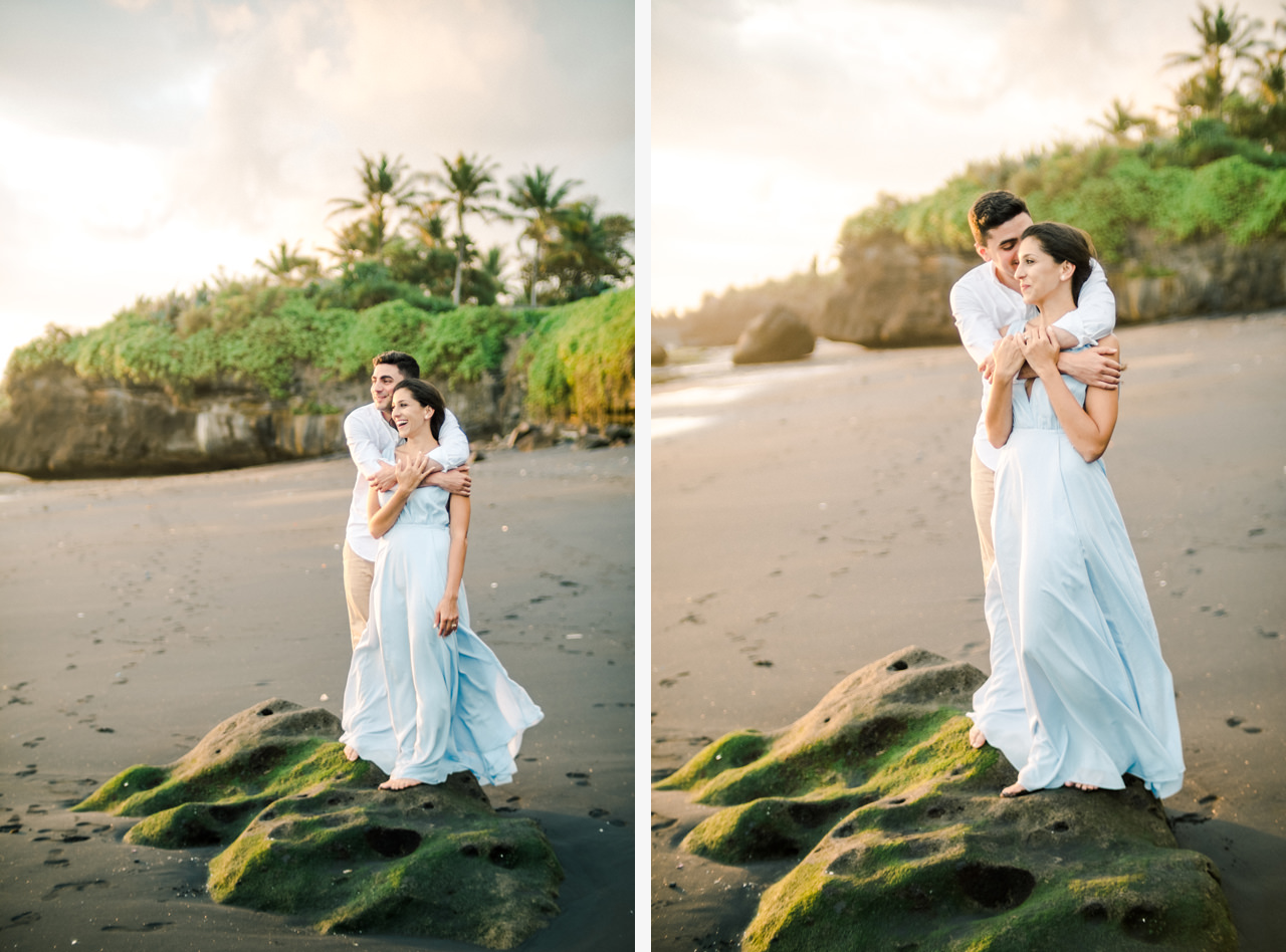 L&G: Bali Vacation Photography With Rice Fields and Beach Background 17