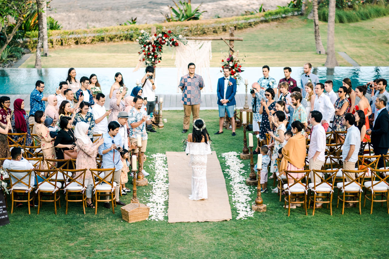 G&N: Bohemian Bali Wedding at Jeeva Saba 30