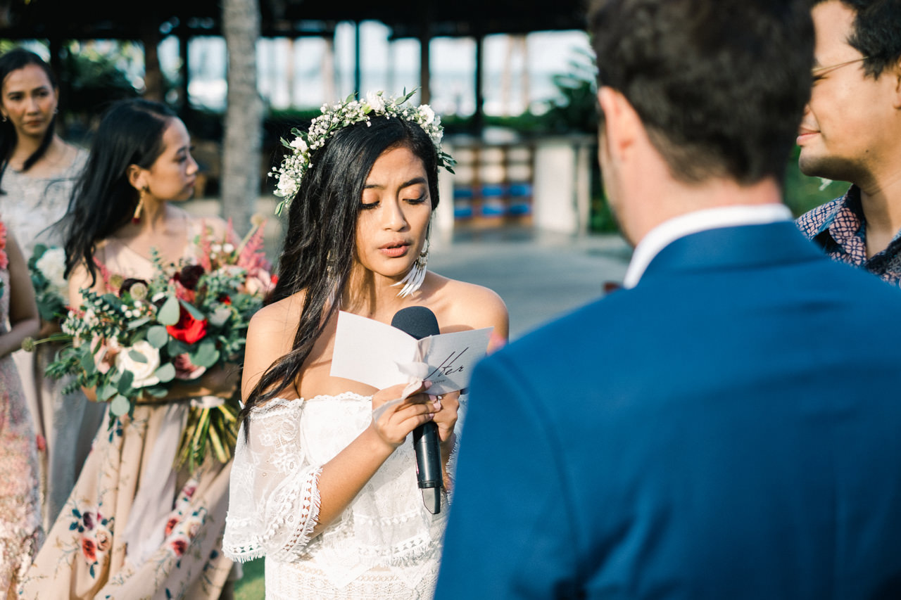 G&N: Bohemian Bali Wedding at Jeeva Saba 34