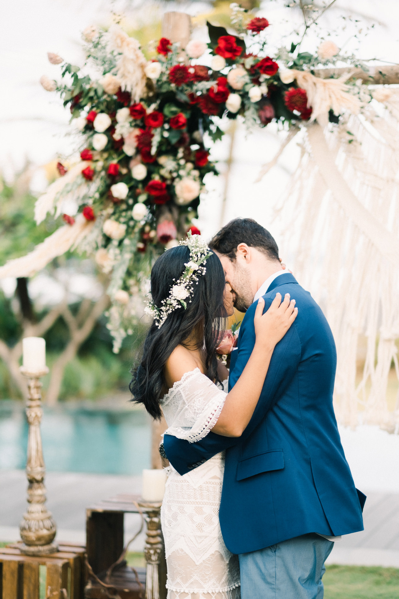 G&N: Bohemian Bali Wedding at Jeeva Saba 37