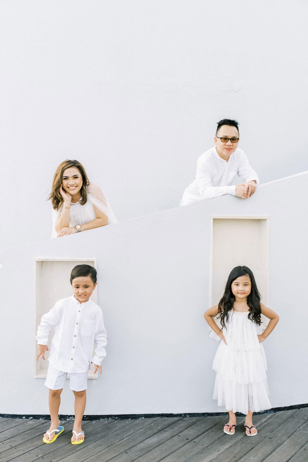 Samabe Bali Outdoor Family Photo 8