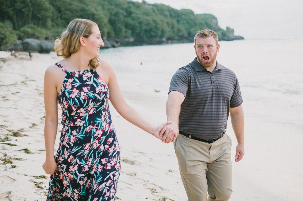 Hannah & Chester: Honeymoon Photography at Uluwatu Beach 9