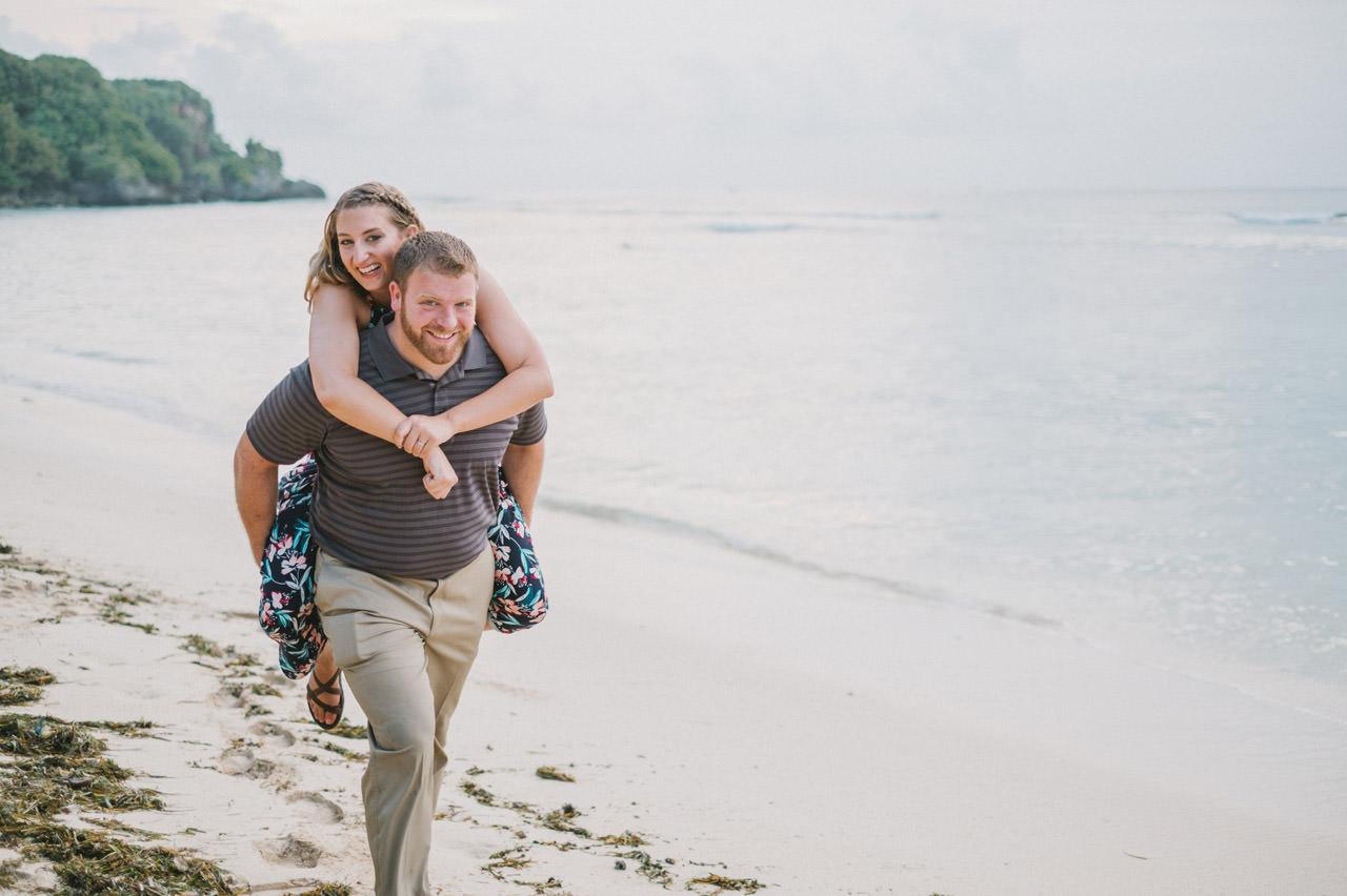 Hannah & Chester: Honeymoon Photography at Uluwatu Beach 13